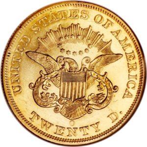 $20 1856 O orel