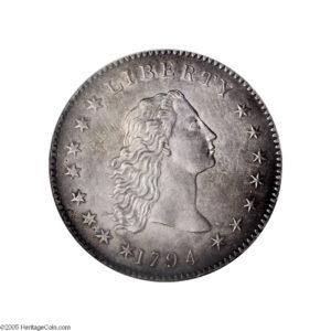 $1 1794 hlava