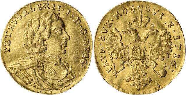 Russia dukat 1716