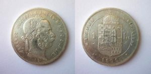 Zlatník - Forint 1876 K.B.