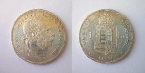 Zlatník Forint 1878 K.B.