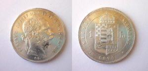 Zlatník Forint 1879 K.B.