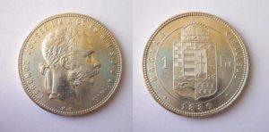Zlatník - Forint 1880 K.B.