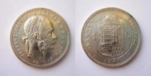 1 Forint 1881 K.B.