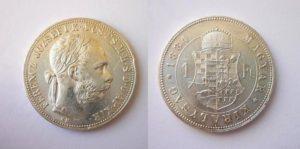 Zlatník - Forint 1884 K.B.