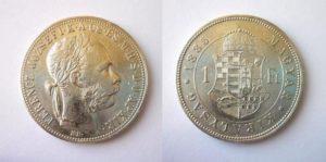 Zlatník Forint 1885 K.B.