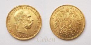 10 Koruna 1896