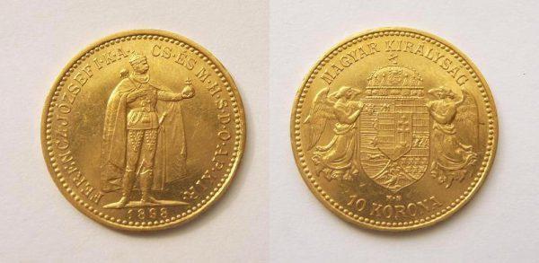 10 Koruna 1898 K.B