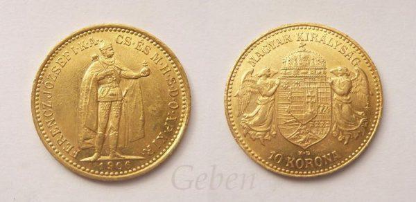 10 Koruna 1906 K.B