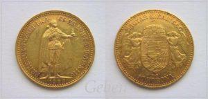 10 Koruna 1907 K.B.