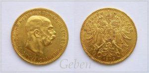 10 koruna 1909 Schwartz