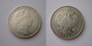Zlatník - Florin 1858 M !