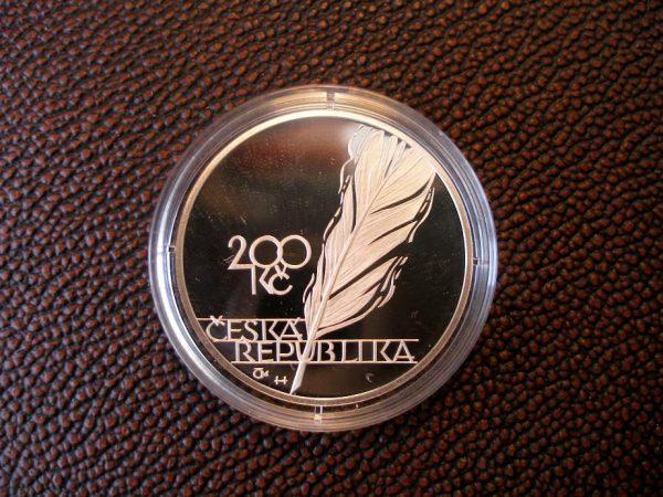 200 Kč Jaroslav Vrchlický - PROOF