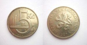 5 Kč 1927 Vzácná R