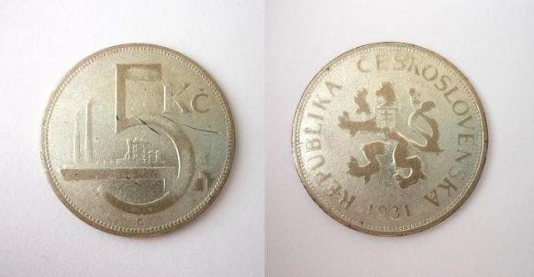 5 Kč 1931