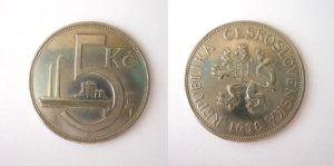 5 Kč 1938