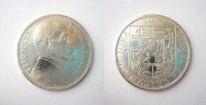 20 Kč 1937 Masaryk úmrtní - Nádherná RL
