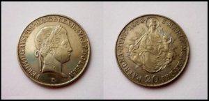 20 Krejcar 1838 B