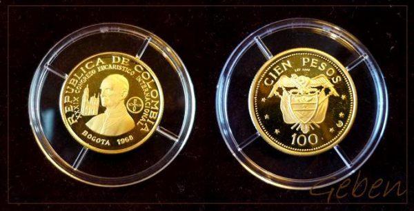 100 Pesos Colombia