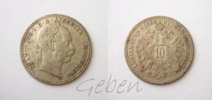 10 Krejcar 1869