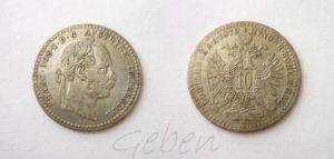 10 Krejcar 1870