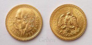 2 1/2 Pesos 1945