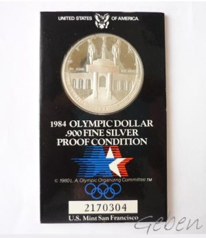 USA - Los Angeles 1984 Olympic Dollar - PROOF