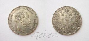 20 Krejcar 1869
