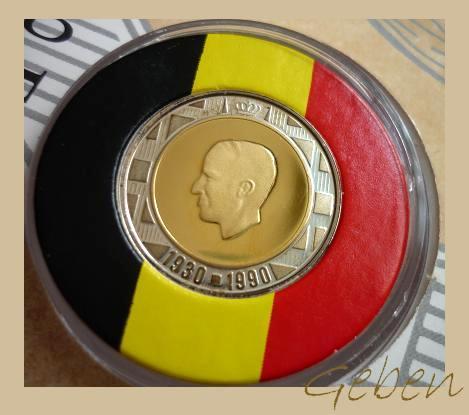 Královské výročí - Belgie 1990