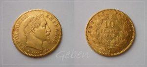 10 Frank 1862 A Napoleon III.