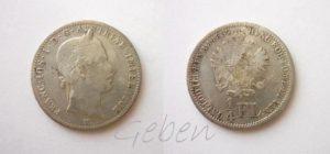 1/4 Florin 1859 V