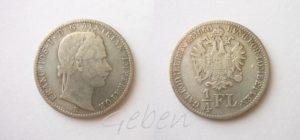 1/4 Florin 1860 B