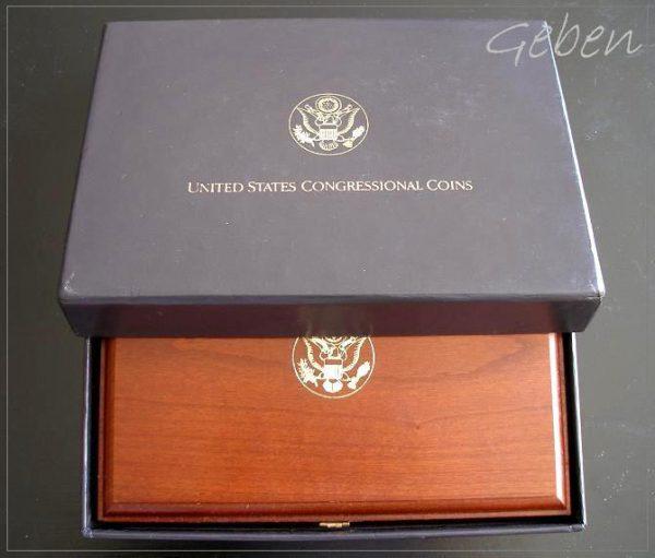 Sada Congres Zlaté pětidollary USA