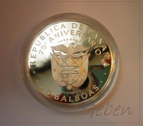 20 Balboas 1978 R