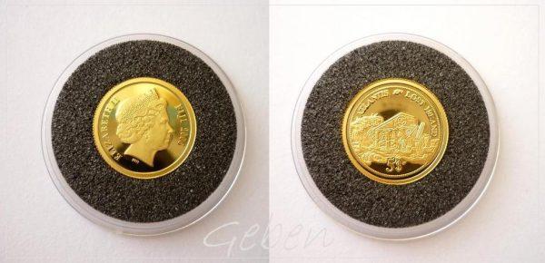 5 Dollars Fiji 2006 - Atlantida