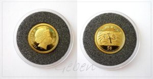 5 Dollars Fiji 2006 - Nazca Peru