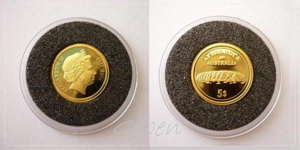 5 Dollars 2006 - Ayers Rock