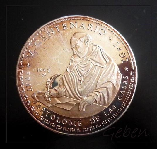 30 Pesos Bartolomé de las Casas R