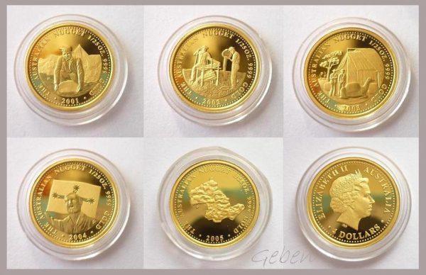 4 Dollars Zlatá série NUGGET !