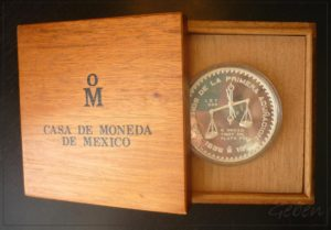 Mexico 1986 5 Oz CASA DE MONEDA DE MEXICO - vzácná