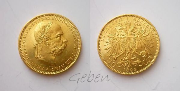 20 Koruna 1893