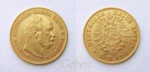 5 Marka 1877 C Wilhelm I.