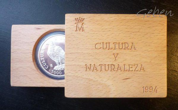 Španělsko 5000 Pesetas 1994 - 54 g