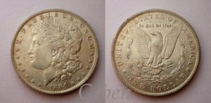 Morgan Dollar 1884 O