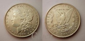 Morgan Dollar 1900
