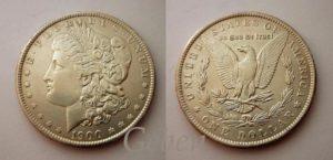Morgan Dollar 1900