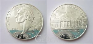 Dollar Thomas JEFFERSON