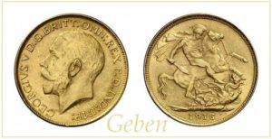 Sovereign 1916 M Australia