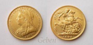 Sovereign 1897 M – Melbourne