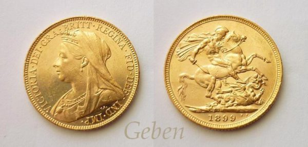 Sovereign 1899 M – Melbourne